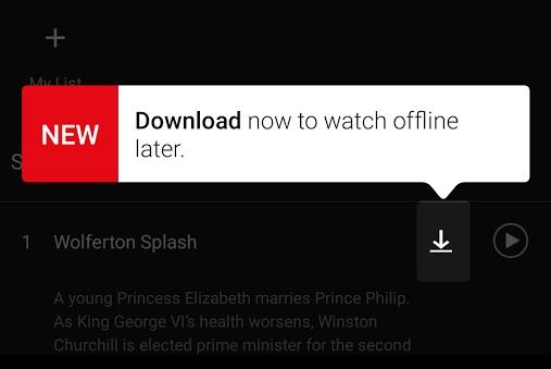 netflix download Netflix iOS : la visualisation hors connexion disponible (séries populaires)