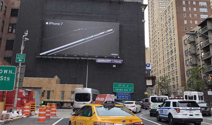 pub iphone7 nyc Apple ne révèlera plus le montant de ses dépenses publicitaires