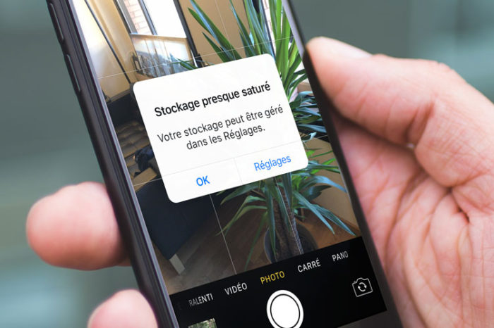 stockage iphone sature 700x466 Actu, astuces et tuto iPhone 7, 6s, iPad et Apple Watch   AppSystem.fr