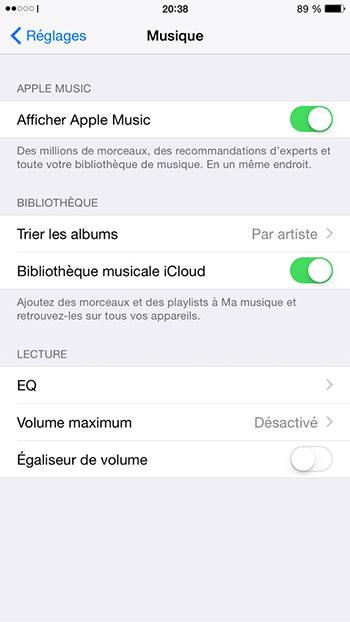stockage iphone staure Stockage iPhone saturé : Gagner de lespace en nettoyant la bibliothèque musicale iCloud