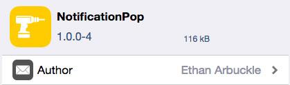 tweak NotificationPop ajoute un geste 3D Touch aux notifications iOS (tweak cydia)