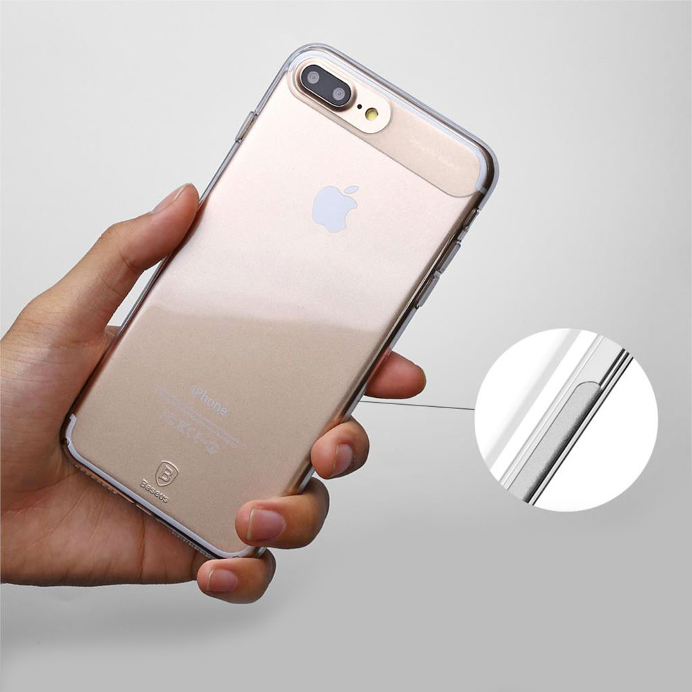 10 1 Sky Clear : Coque iPhone 7 & 7 Plus, super fine avec protection décran