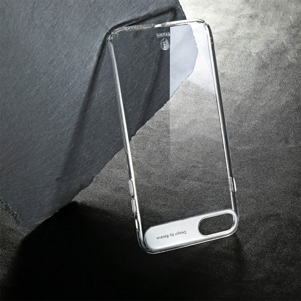 6 1 Sky Clear : Coque iPhone 7 & 7 Plus, super fine avec protection décran