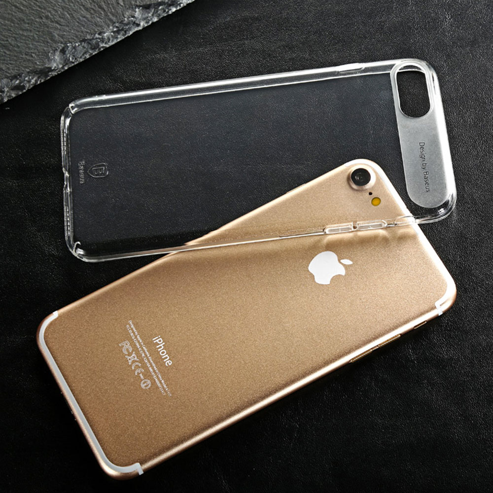 7 1 Sky Clear : Coque iPhone 7 & 7 Plus, super fine avec protection décran