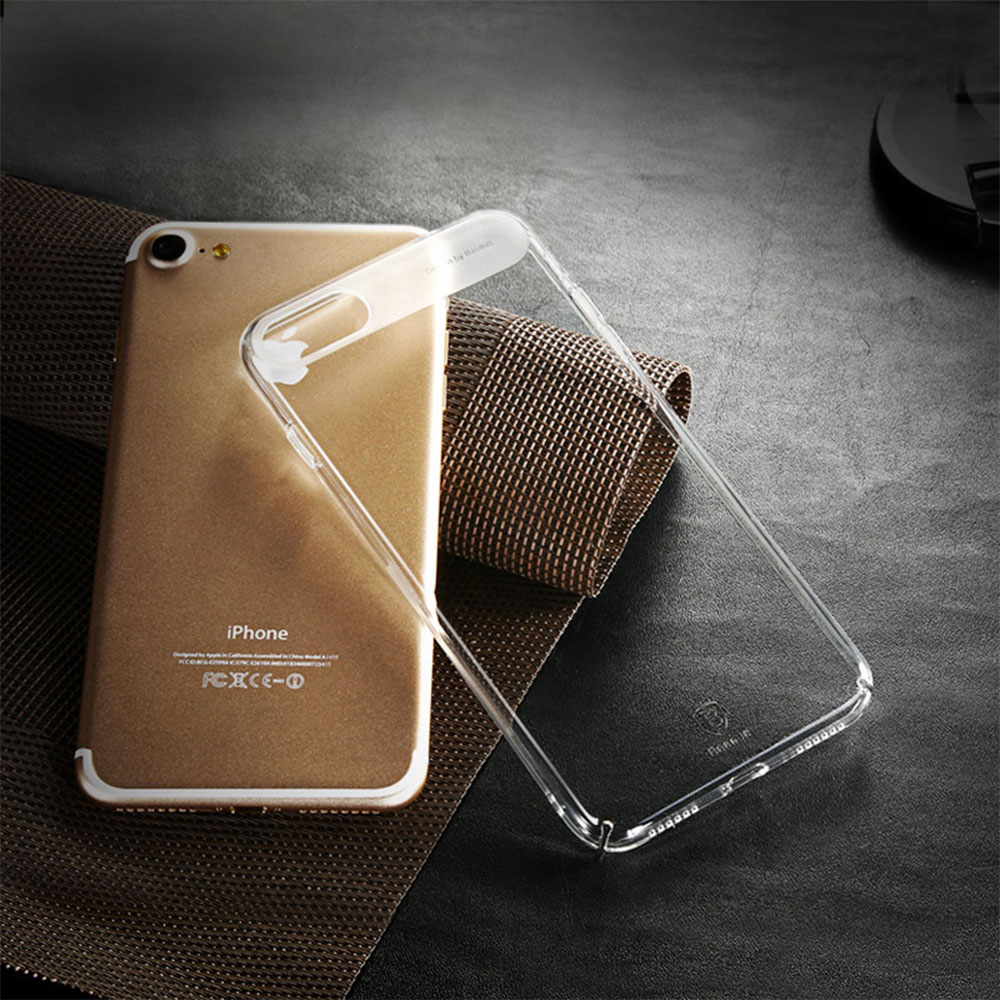 8 1 Sky Clear : Coque iPhone 7 & 7 Plus, super fine avec protection décran