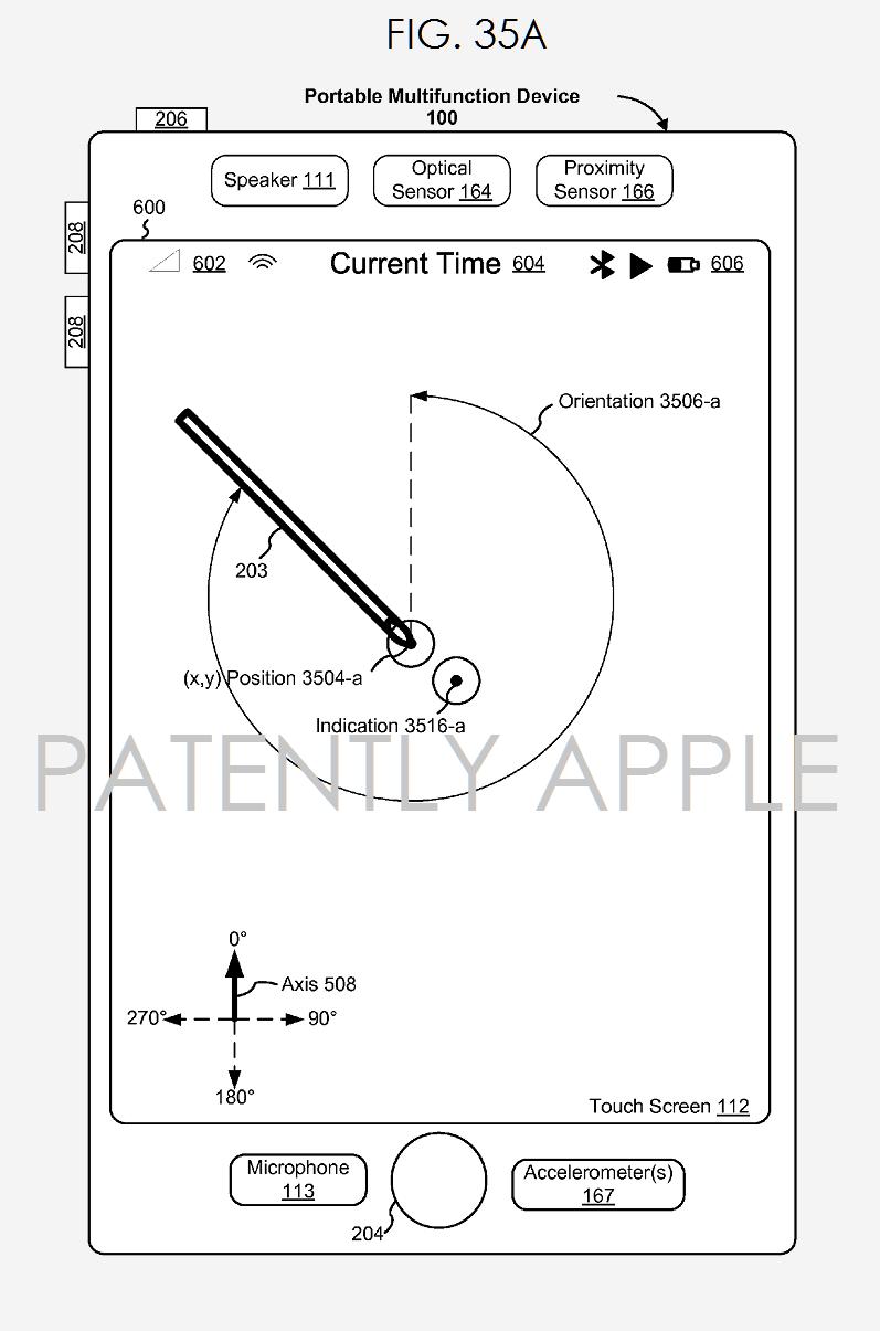 brevet apple pencil  Brevet : une possible compatibilité entre lApple Pencil et liPhone