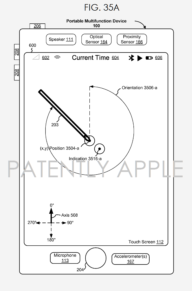 brevet apple pencil  Brevet : une possible compatibilité entre lApple Pencil et liPhone
