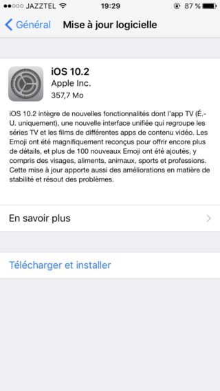 iOS 10 2 320x569 iOS 10.2 disponible pour iPhone, iPad et iPod touch