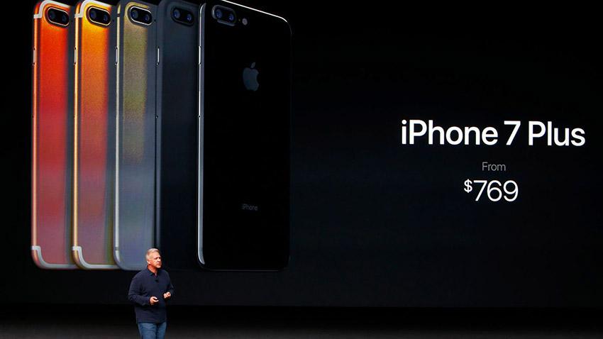 iphone 7 plus price keynote iPhone 8   Apple doit faire face à un marché dont les prix sont en baisse