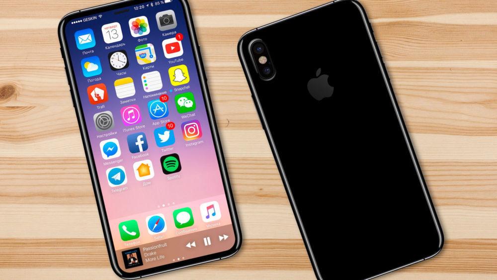 iphone 8 ecran 1000x563 iPhone 8 : date de sortie, prix et caractéristiques du smartphone dApple