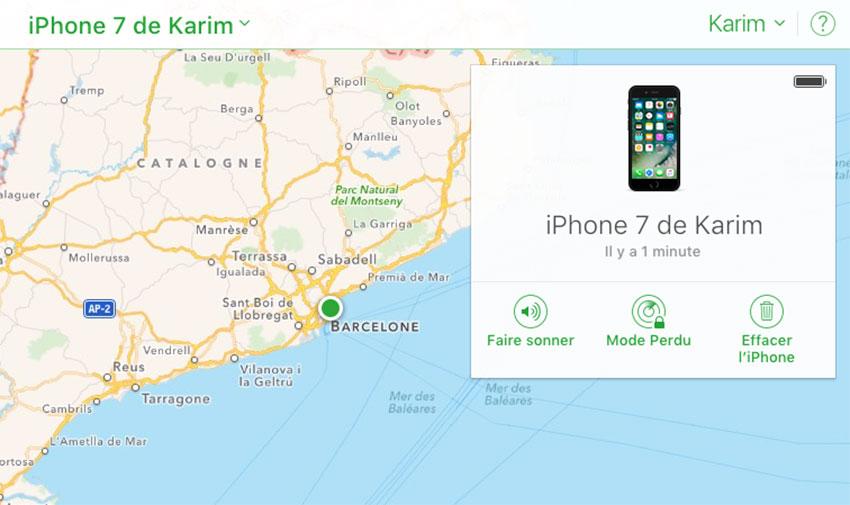 localiser mon iphone Une faille sur iOS 10.1.1 permet de contourner lécran de verrouillage