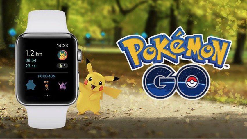pokemon go apple watch 850x478 Pokémon Go est enfin disponible sur Apple Watch