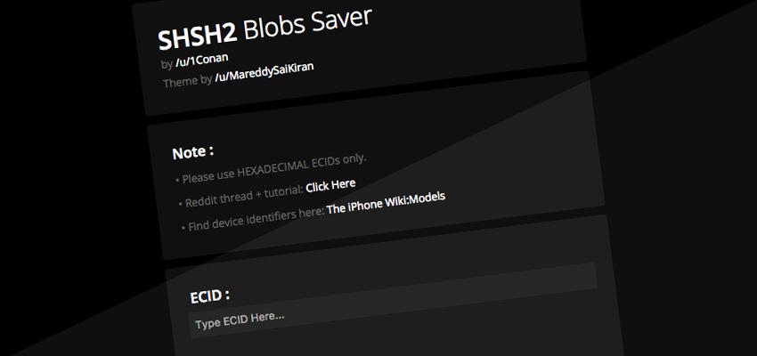 shsh2 blobs auto tsschecker blobs .shsh2 : comment les sauvegarder pour Prometheus avec auto tsschecker