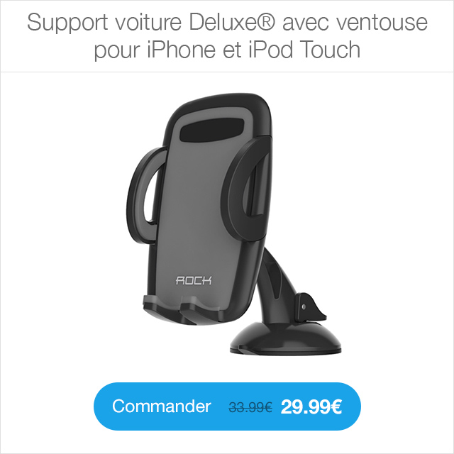 support voiture deluxe shopsystem Enceinte Bluetooth Pocket Party®