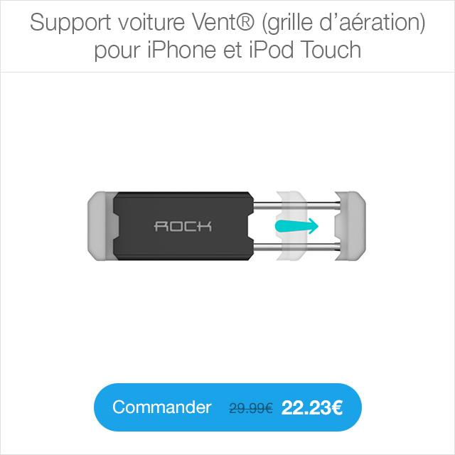 support voiture vent shopsystem Enceinte Bluetooth Pocket Party®