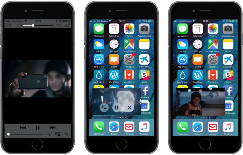 ForceInPicture 850x542 [Cydia] ForceInPicture : activer le mode Picture in Picture sur iPhone