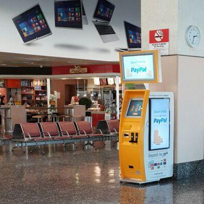 TravelersBox machine Convertir des monnaies étrangères en crédit iTunes avec TravelersBox