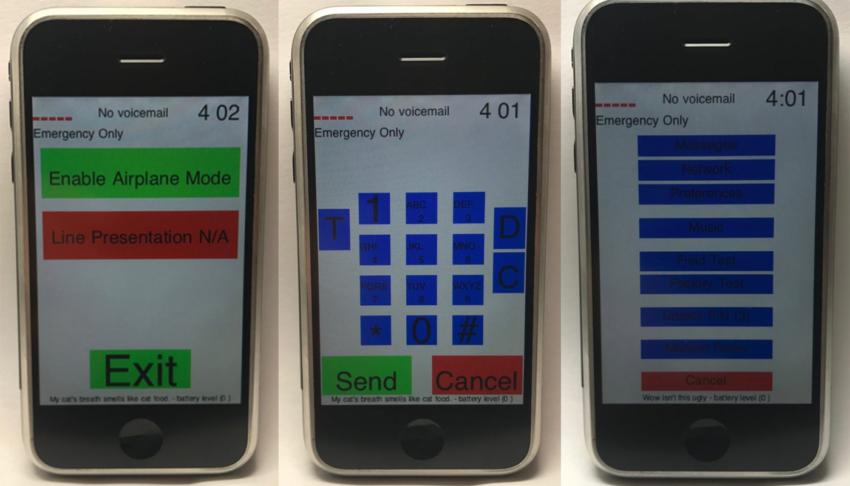 iPhone EDGE prototype 2 850x486 10 ans de liPhone : une vidéo montre les tous premiers prototypes