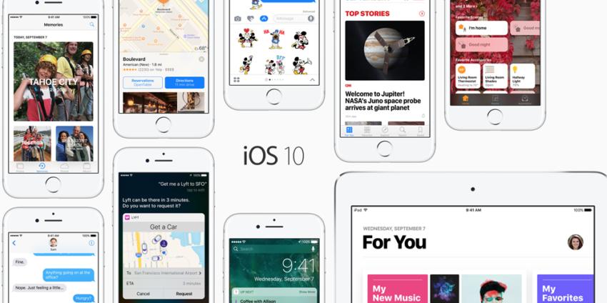 ios 10 e1483712205381 iOS 10.3.3 est disponible pour iPhone, iPad et iPod touch