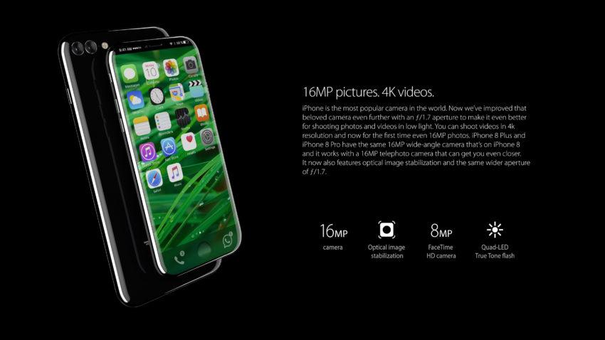iphone 8 pro 2 850x478 iPhone 8 Pro : un concept magnifique et réaliste