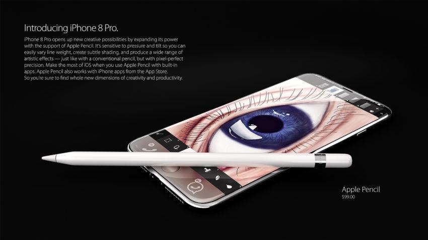 iphone 8 pro 6 850x478 iPhone 8 Pro : un concept magnifique et réaliste