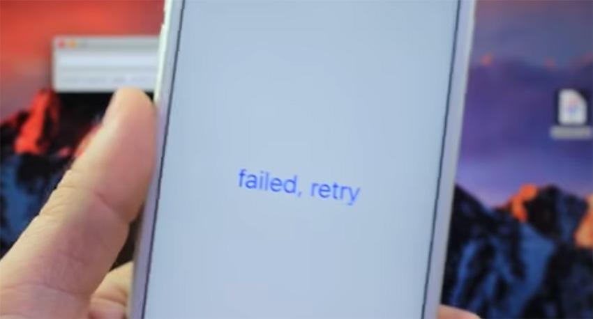 yalu failed rety Tutoriel Jailbreak iOS 10.2 avec loutil Yalu de Luca Todesco