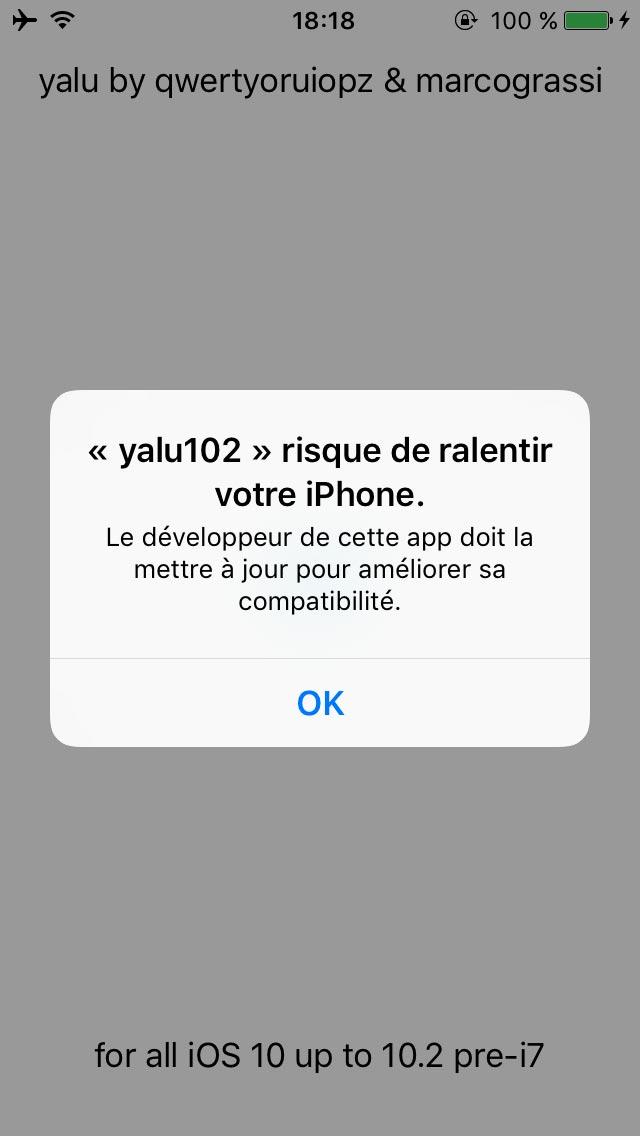 yalu jailbreak 7 Tutoriel Jailbreak iOS 10.2 avec loutil Yalu de Luca Todesco