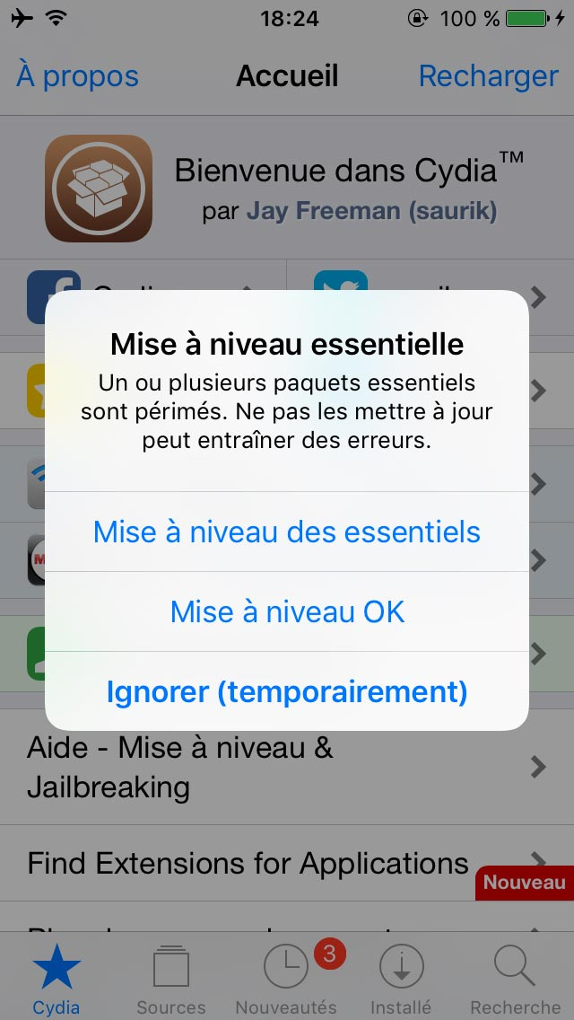 yalu jailbreak 9 Tutoriel Jailbreak iOS 10.2 avec loutil Yalu de Luca Todesco