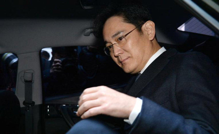 Lee Jae yong 850x521 Lee Jae yong, lhéritier de Samsung arrêté pour corruption