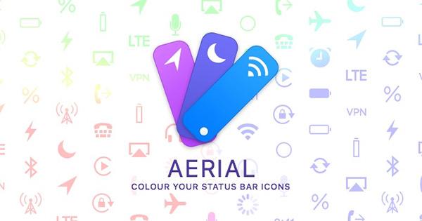 aerial cydia Cydia : Aerial, donner de la couleur aux icônes de la barre de statuts