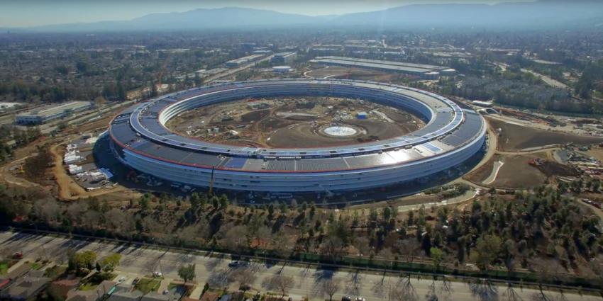 apple campus 2 e1486483047292 Apple Park : ultime vidéo aérienne du nouveau campus dApple