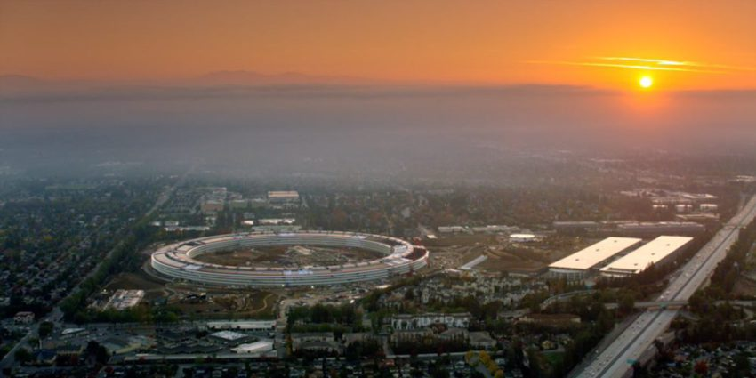 L'Apple Park et ses 260 000 m² ouvriront en avril prochain
