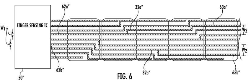 brevet iphone 8 capteur empreintes 2 iPhone 8 : un brevet pour un capteur dempreintes intégré à tout lécran