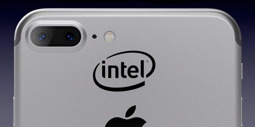 iphone 8 intel 850x425 iPhone 8 : un modem Intel suite au conflit avec Qualcomm ?
