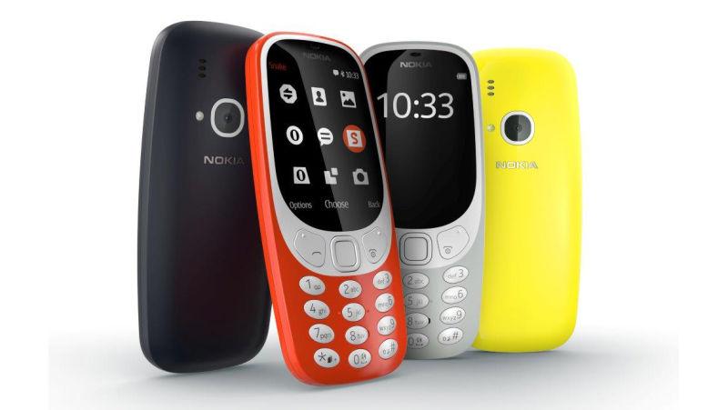 nokia 3310 MWC 2017 : le Nokia 3310 fait peau neuve !