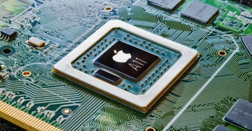 Apple A11 puce iPhone 8 / iPhone 7s : la production des puces A11 débutera en avril