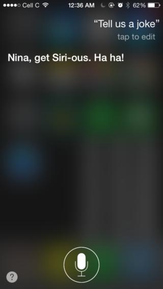 Top Siri AppSystem 1 320x568 Top 10 des réponses les plus drôles de Siri !