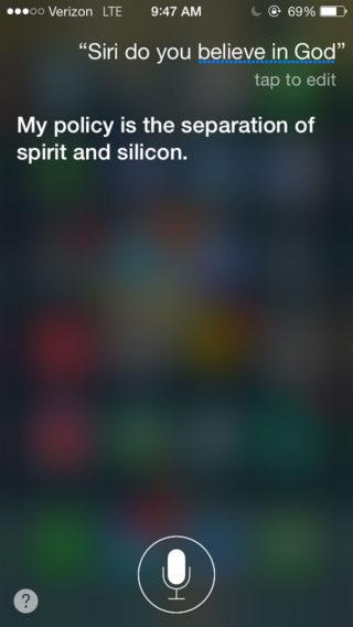 Top Siri AppSystem 8 320x568 Top 10 des réponses les plus drôles de Siri !