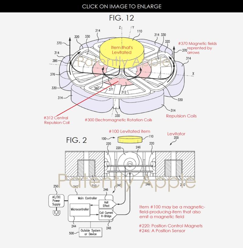 brevet apple iphone charge levitation Apple brevette un système de rechargement en lévitation pour liPhone