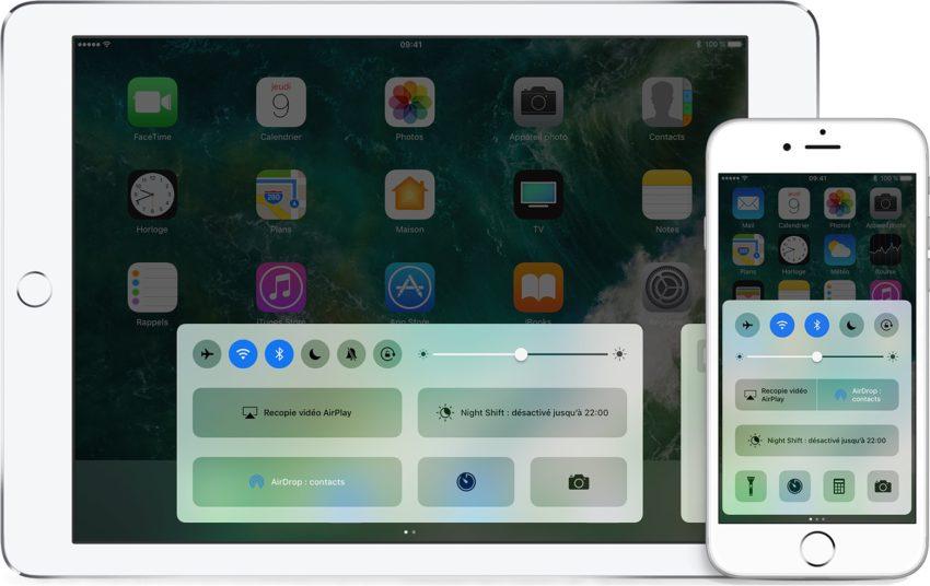 iOS 10 centre controle Cydia : CCPlus, personnaliser le Centre de Contrôle diOS