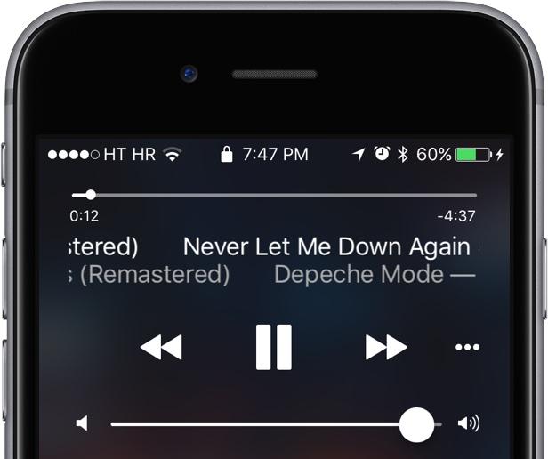 iOS 10 musique Cydia : LockMusic, réorganiser le contrôle de la musique sur le Lockscreen
