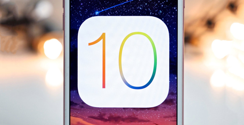 iOS 10 iOS 10.3.2 disponible pour iPhone, iPad et iPod touch