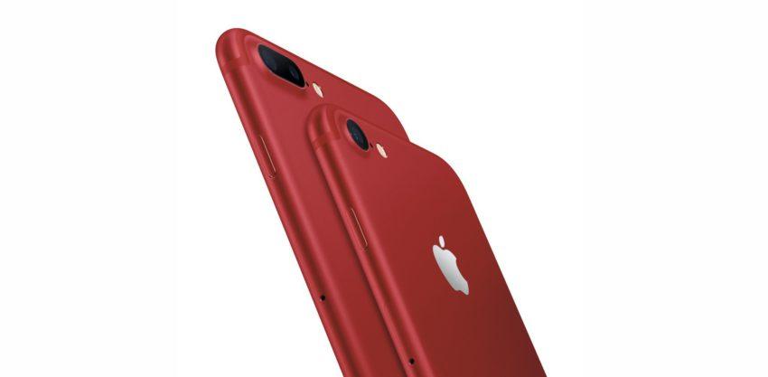 iphone 7 red Les iPhone 7/7 Plus RED Edition et les versions 256 Go retirés de la vente