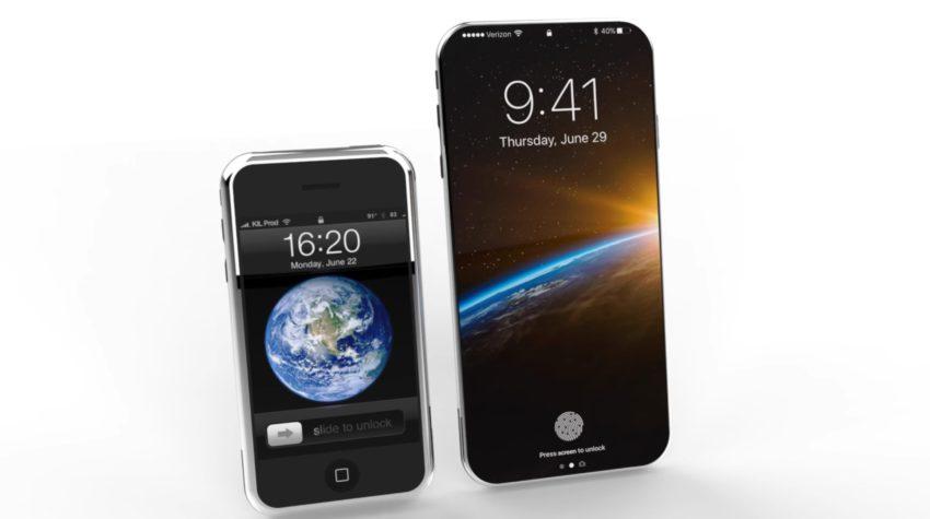 iphone 8 concept iphone edge Concept : un iPhone 8 inspiré du tout premier iPhone