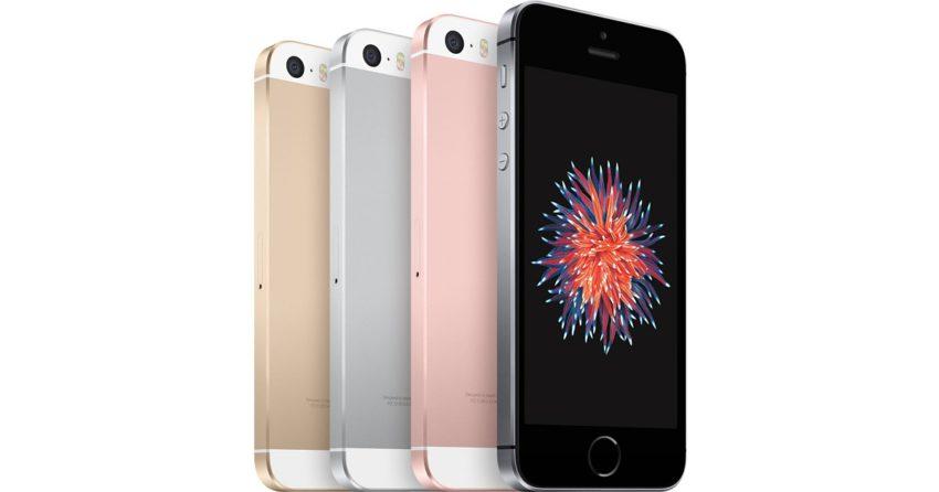 iPhone SE : capacités de stockage doublées, prix inchangé