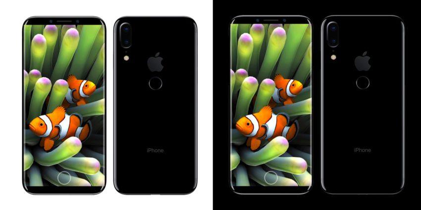 iphone edition iPhone 8 vs Galaxy S8 : le comparatif (basé sur les dernières rumeurs)