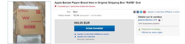 pippin 2 Pippin : la console de jeux Apple en vente sur eBay