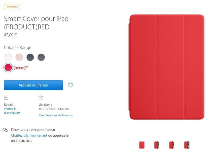 smartcover rouge ipad De nouvelles coques pour iPhone 7 / 7 Plus et iPad sont disponible chez Apple