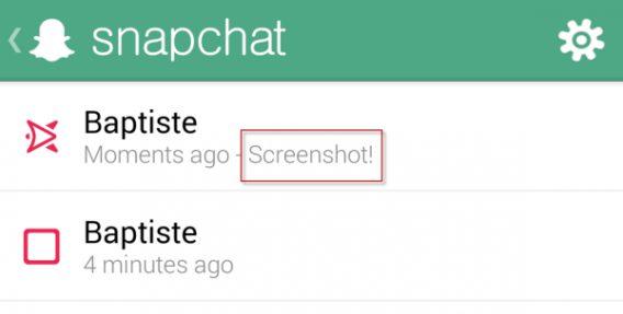 snap screen Rumeur : les notifications de capture décran sur iMessage avec iOS 11 ?