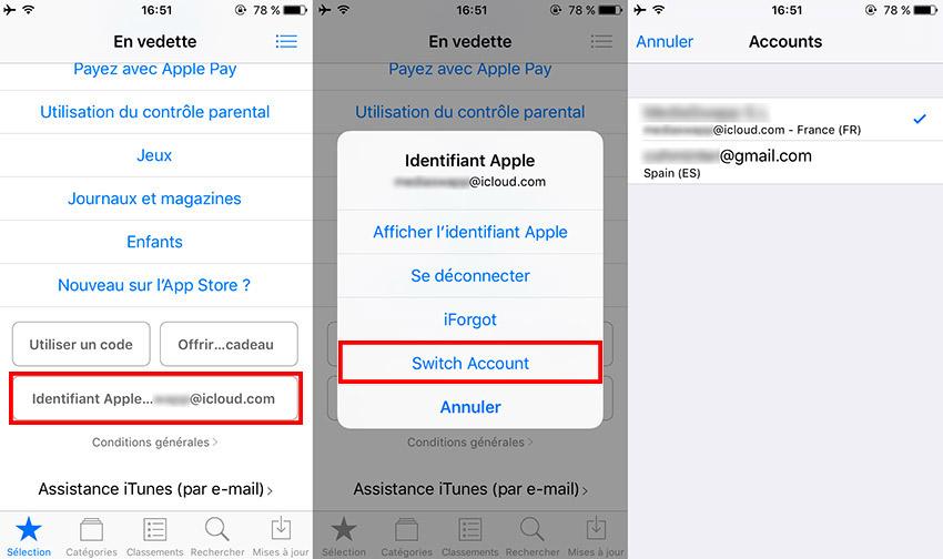 store switcher cydia tweak Cydia : StoreSwitcher, switcher entre vos comptes App Store en toute facilité